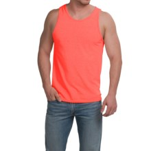 Cotton Tank Top (For Men) in Orange - 2nds