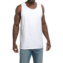 Cotton Tank Top (For Men) in White - 2nds