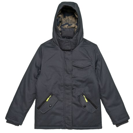 Image of Cotton Twill Jacket - Insulated (For Big Boys)