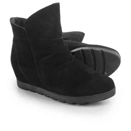 Cougar Astro Silky Suede Boots - Waterproof (For Women) in Black - Closeouts