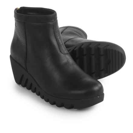 Cougar Bang Leather Boots - Waterproof (For Women) in Black - Closeouts