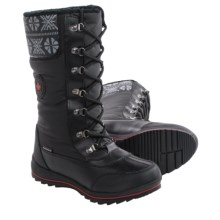 Cougar Beany Snow Boots - Waterproof (For Women) in Black - Closeouts