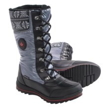 Cougar Beany Snow Boots - Waterproof (For Women) in Gunmetal - Closeouts