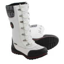 Cougar Beany Snow Boots - Waterproof (For Women) in White - Closeouts