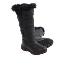 Cougar Bistro Snow Boots - Waterproof (For Women) in Black Patent - Closeouts
