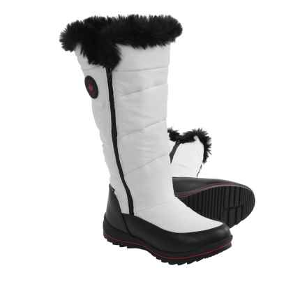 Cougar Bistro Snow Boots - Waterproof (For Women) in White Patent - Closeouts
