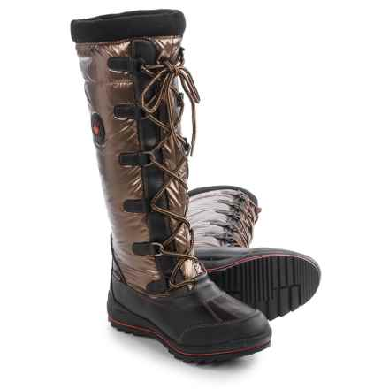 Cougar Canuck Apres Snow Boots - Waterproof (For Women) in Bronze - Closeouts