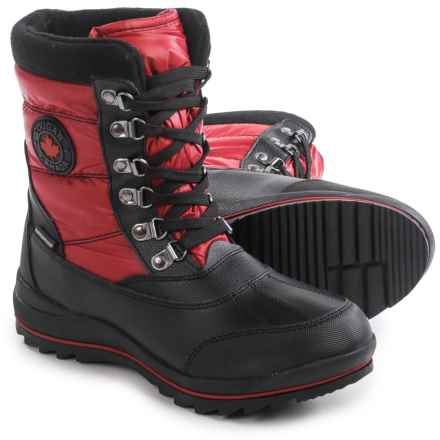 Cougar Chamonix Pac Boots (For Women) in Red - Closeouts
