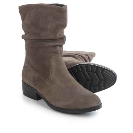 Cougar Chichi Silky Suede Ankle Boots - Waterproof (For Women) in Putty - Closeouts