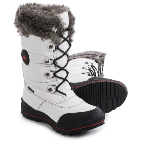 Cougar Cranbrook Sleek Snow Boots - Waterproof (For Women) in White