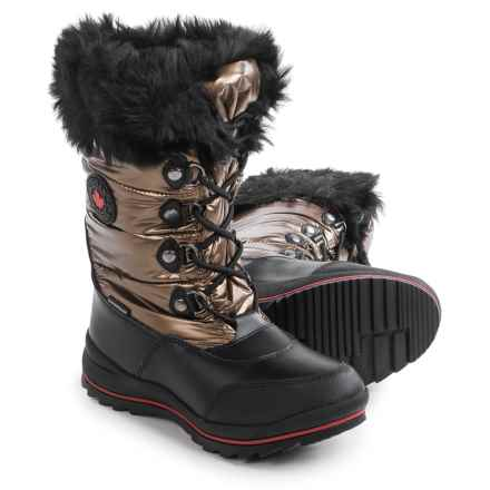 Cougar Cranbrook Snow Boots - Waterproof (For Women) in Bronze - Closeouts