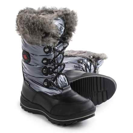Cougar Cranbrook Snow Boots - Waterproof (For Women) in Gunmetal - Closeouts