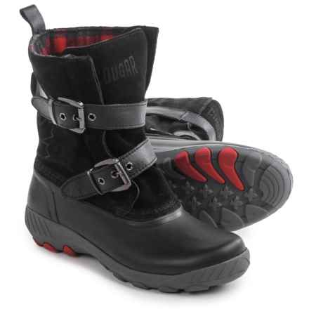 Cougar Maple Creek Snow Boots - Waterproof (For Women) in Black - Closeouts