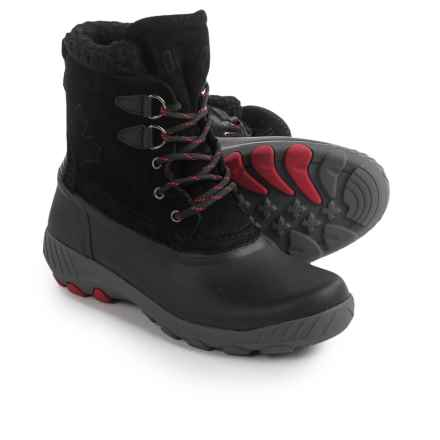 Cougar Maple Sugar Suede Snow Boots - Waterproof, Insulated (For Women) in Black - Closeouts
