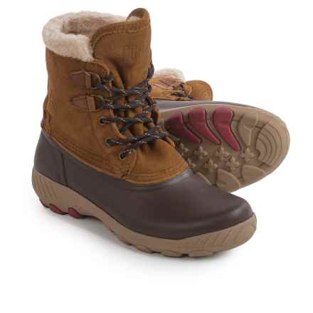 Cougar Maple Sugar Suede Snow Boots - Waterproof, Insulated (For Women) in Oak - Closeouts
