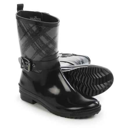 Cougar Rage Rain Boots - Waterproof (For Women) in Black Plaid - Closeouts