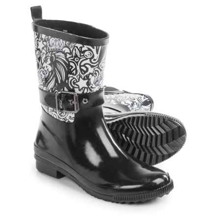 Cougar Rage Rain Boots - Waterproof (For Women) in Majestic Print - Closeouts