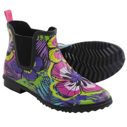 Cougar Regent Rain Boots - Waterproof Rubber (For Women) in All Over Fiji - Closeouts