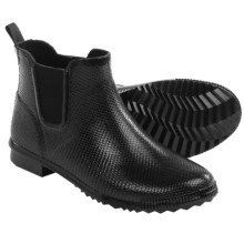 Cougar Regent Rain Boots - Waterproof Rubber (For Women) in Black Snake - Closeouts