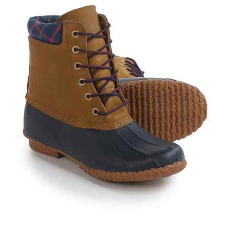 Cougar Roger Duck Pac Boots (For Women) in Navy/Tan - Closeouts