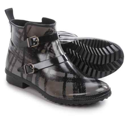 Cougar Royale Rain Ankle Boots - Waterproof (For Women) in Black Plaid - Closeouts