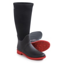 Cougar Talon Rain Boots - Waterproof (For Women) in Black/Red - Closeouts