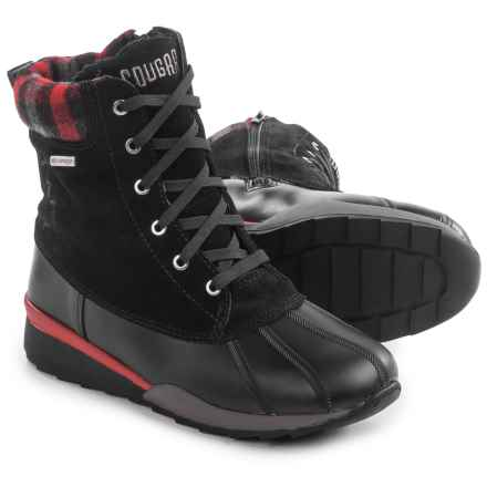Cougar Totem Snow Boots - Waterproof (For Women) in Black - Closeouts