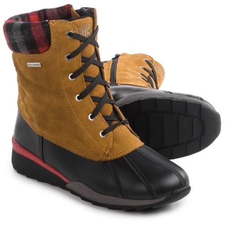 Cougar Totem Snow Boots - Waterproof (For Women) in Oak