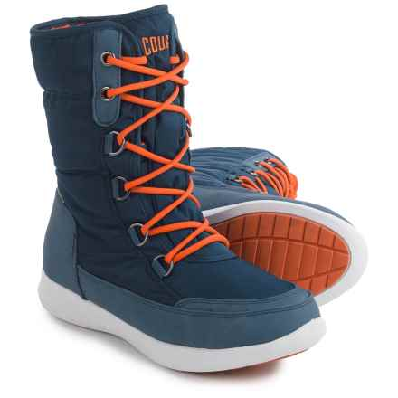 Cougar Wagu Thinsulate® Snow Boots - Waterproof, Insulated, Fleece Lined (For Women) in Blue - Closeouts