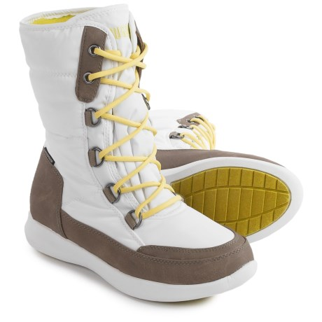 Cougar Wagu Thinsulate® Snow Boots - Waterproof, Insulated, Fleece Lined (For Women) in White