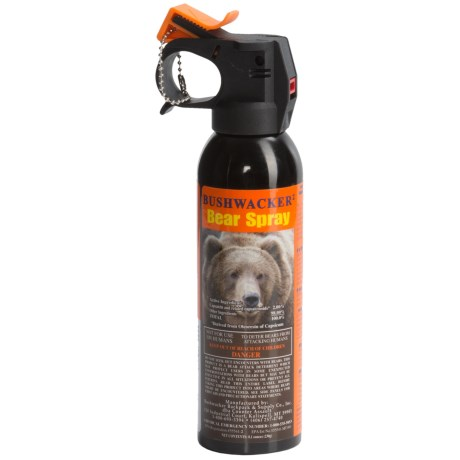 Counter Assault Bushwacker Bear Spray - 8.1 oz. in See Photo