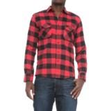 Counter Intelligence Buffalo Flannel Shirt - Long Sleeve (For Men)