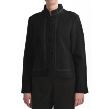 Country Fashion by Venario Euro-Styled Boiled Wool Jacket (For Women) in Black - Closeouts