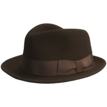 Country Gentleman City Fedora Hat (For Men) in Brown - Closeouts