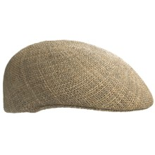 Country Gentleman Cuffly Driving Cap - Straw Ivy (For Men) in Natural - Closeouts