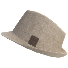 Country Gentleman Trilby Fedora Hat (For Men) in Tan - Closeouts
