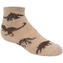 Country Kids Printed Socks (For Little Boys) in Real Dinosaurs Asst. A - Closeouts