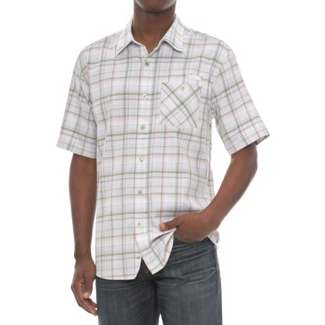 Cova Baja Shirt - Short Sleeve (For Men) in Mint Green