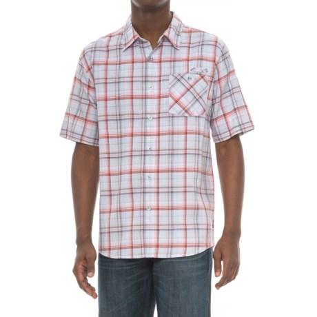 Cova Baja Shirt - Short Sleeve (For Men) in Sunset Red