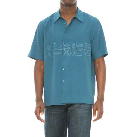 Cova Happy Hour Shirt - Short Sleeve (For Men) in Monaco Blue - Closeouts