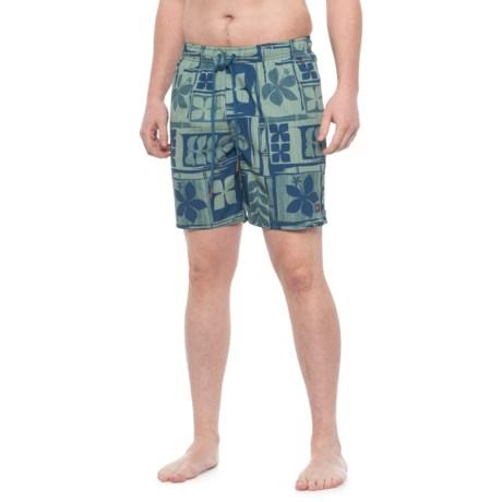 53fb62602b Cova Luau Swim Trunks (For Men) in Ocean Blue
