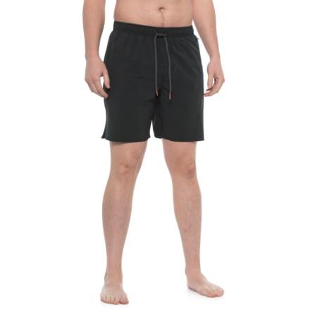 c9b76bf297 Cova Sideline Swim Trunks (For Men) in Black - Closeouts