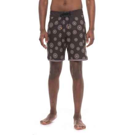 Cova Surchin Boardshorts (For Men) in Black - Closeouts