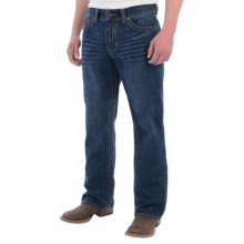 Cowboy Up Lincoln Jeans - Relaxed Fit (For Men) in Med Wash - Closeouts