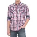 Cowboy Up Plaid Snap Shirt - Long Sleeve (For Men)