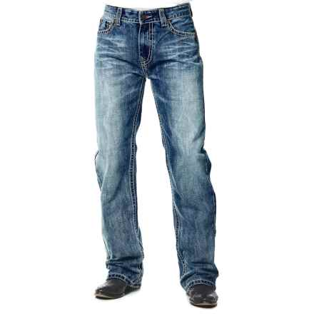 Cowboy Up Russler Jeans - Bootcut Leg (For Men) in Light Stonewash - Closeouts
