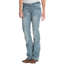 Cowgirl Up It's Complicated Jeans - Low Rise, Bootcut (For Women) in Light Stonewash - Closeouts