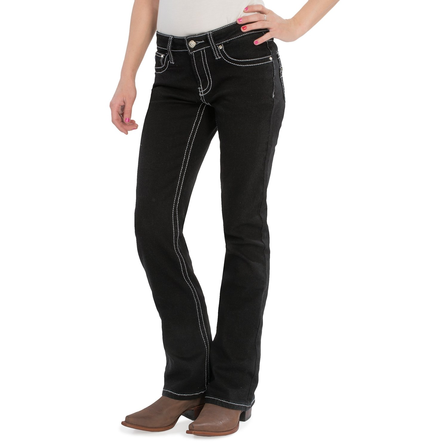 Black Bootcut Pants Womens With Fantastic Example ...