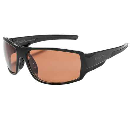 Coyote Eyewear Amp Sunglasses - Polarized in Black/Rose - Closeouts