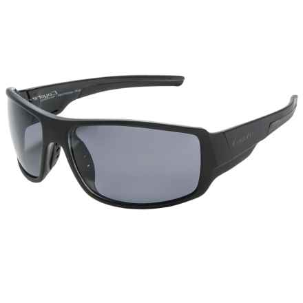 Coyote Eyewear Amp Sunglasses - Polarized in Matte Black/Gray - Closeouts